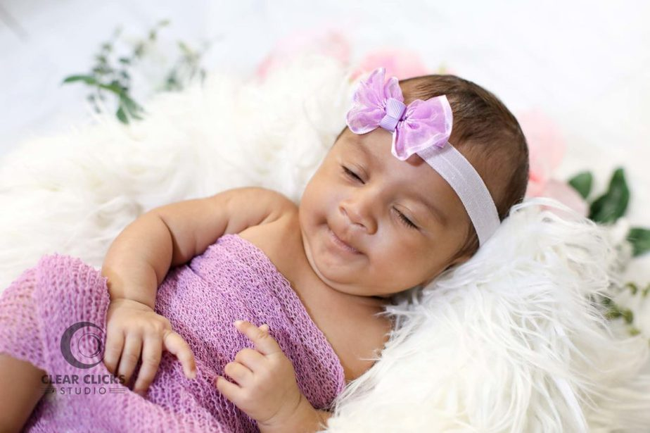 Two months baby girl photo shoot in hyderabad